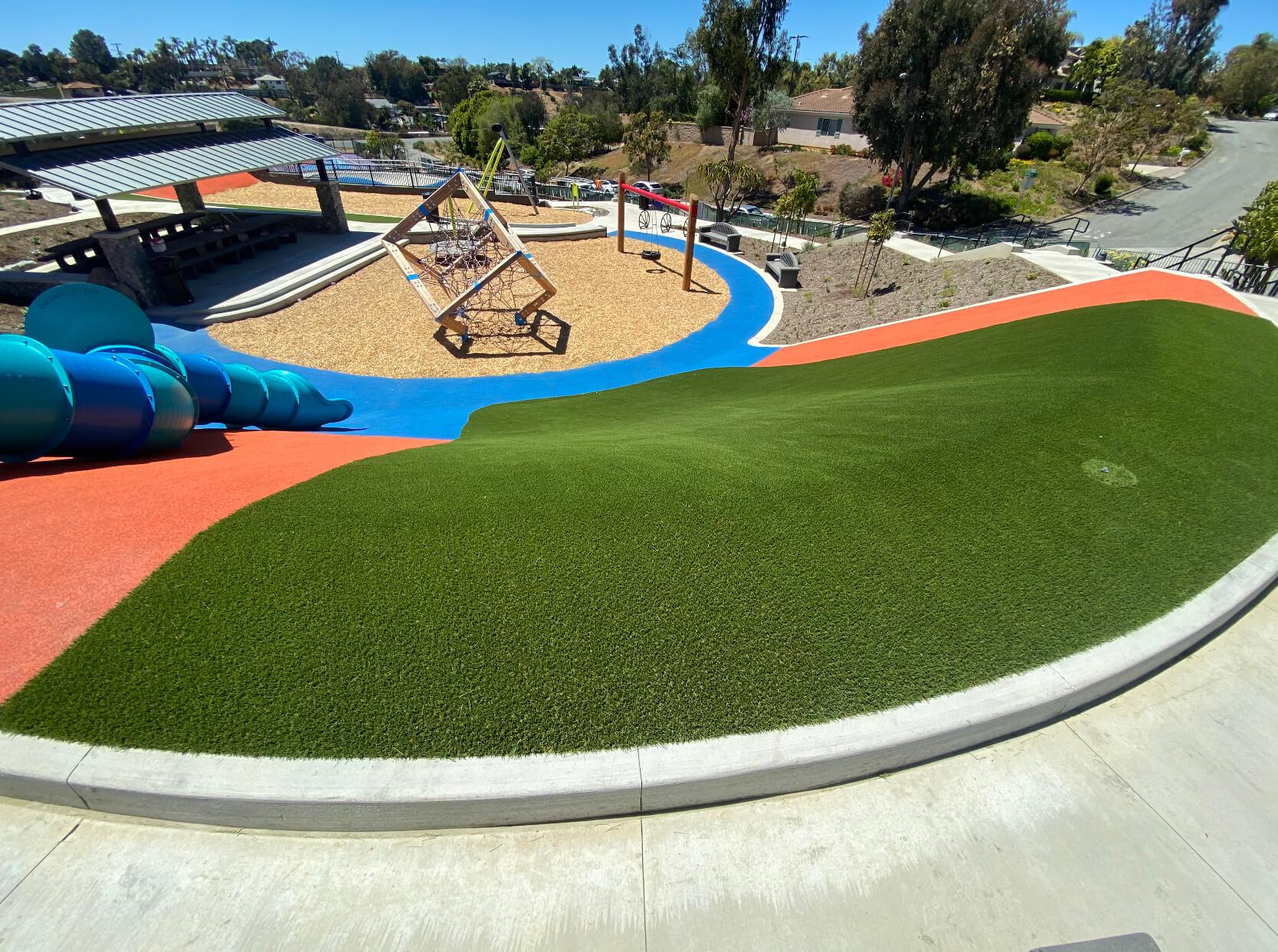artificial-playground-installation