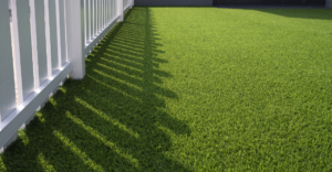 Artificial turf at a residential location